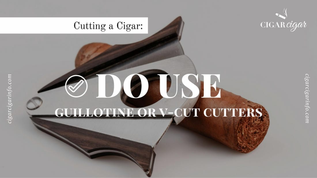 how to v cut a cigar