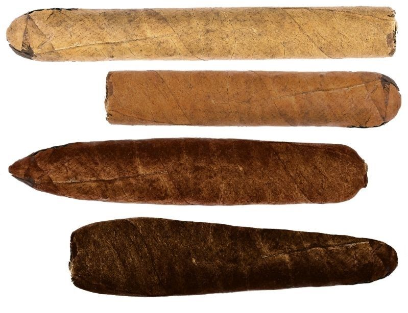 Different shaped stogies