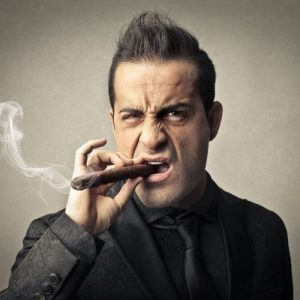 man who does not like the cigar brand