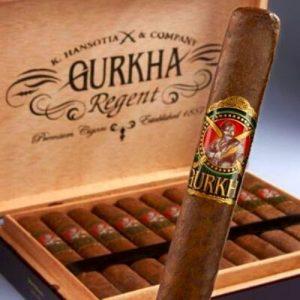 box of gurkha cigar