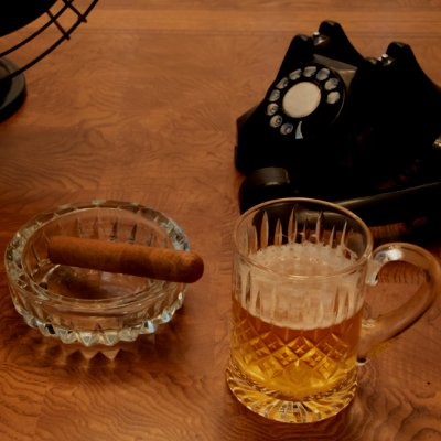 Cigar and Beer